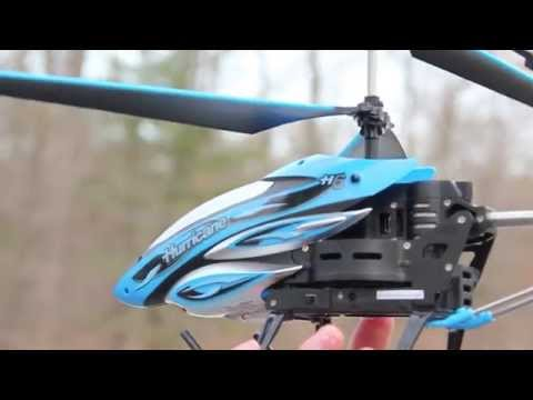 Hurricane H6 RC Helicopter Review, BladeRunner Series