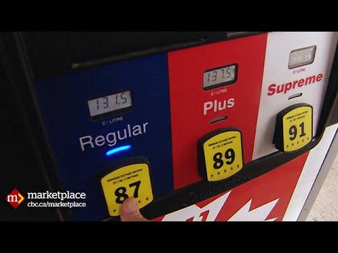 Das Benzin in wald-