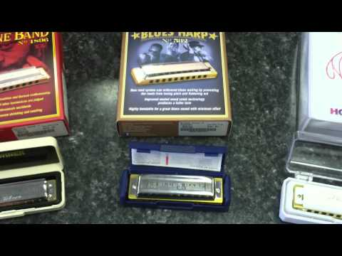 Hohner Harmonicas! – What's the difference?