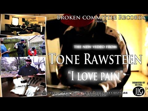 "Tone Rawsteen ""I love pain"" video directed by @jigalowceo"