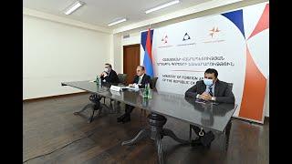 Zohrab Mnatsakanyan a participé à la réunion ministérielle du Partenariat oriental