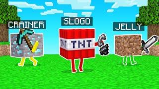 Minecraft But We Are BLOCKS!