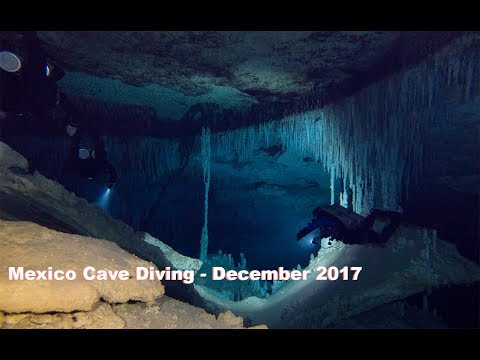 Mexico Cave Diving, December 2017