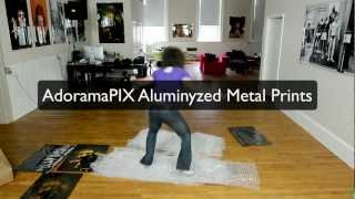 What Are Aluminyzed Metal Photographic Prints