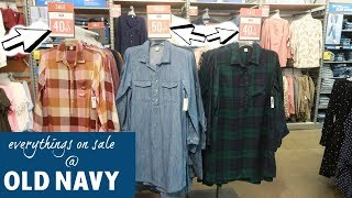 OLD NAVY * EVERYTHING'S ON SALE / COME WITH ME