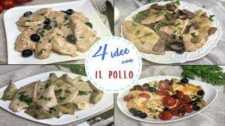 4 IDEE GOLOSE PETTO DI POLLO PRONTO IN 10 MINUTI Ricette Facili