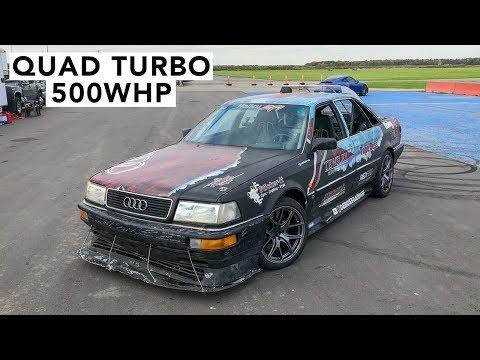 Quad Turbos LS-Swap! DeBoss Garage Audi Quattro Track Review
