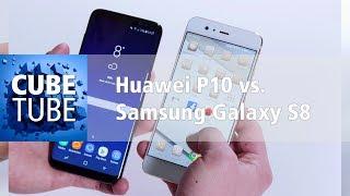 Samsung Galaxy S8 vs Huawei P10 Vergleich (deutsch)
