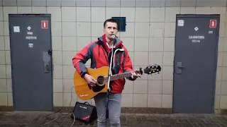 Acoustic cover guitar. Красивое исполнение под гитару. Уличные музыканты.