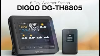 МЕТЕОСТАНЦИЯ Digoo DG-TH8805 с BANGGOOD