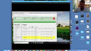 Robotic Grow Daily Log 8-9-18 pt 1 Changing Temp Triggers
