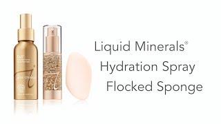 Flocked Makeup Sponge - How to Apply Liquid Minerals Foundation