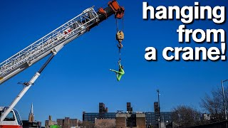 CRAZY ACROBATIC DARES *Daredevils Will Hang From Anything*