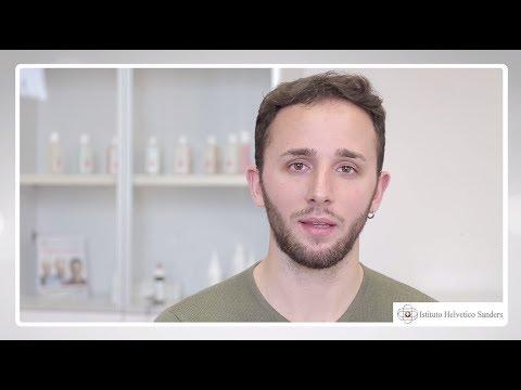 Testicoli di dermatite atopic