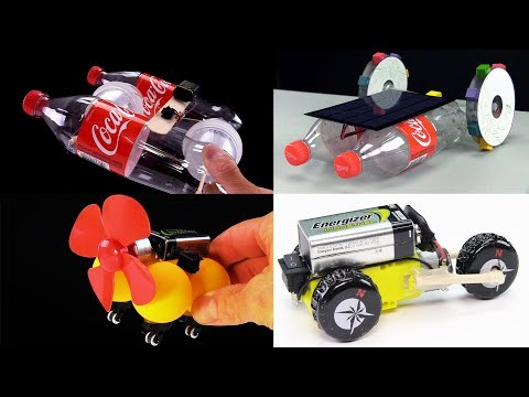 DIY : How To Make A Toy Car With DC Motor - Amazing Compilation