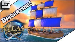 ATLAS: Brigantine COMPLETED! Atlas Gameplay / Let's Play E8
