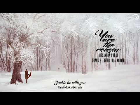 [Lyrics + Vietsub] You Are The Reason - Calum Scott (cover By Alexandra Porat)