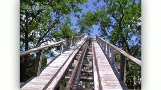 Cyclone Coaster POV - Williams Grove Amusement Park - Mechanicsburg, Pennsylvania, USA