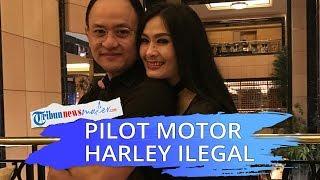 Satrio Dewandono, Suami Iis Dahlia, Pilot Garuda Terbangkan Harley Selundupan
