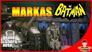 GTA V MOD (20) - BATMAN & KENDARAAN SUPERNYA ! REAL BANGET !