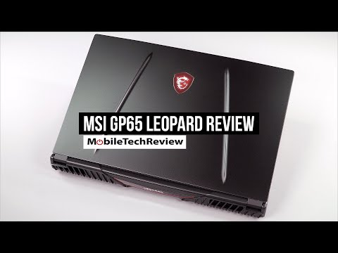 External Review Video FPaSF04ksI8 for MSI GP65 Leopard / GL65 Leopard Gaming Laptop