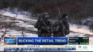 CNBC's Squawk Box talks about KUIU's incredible growth!