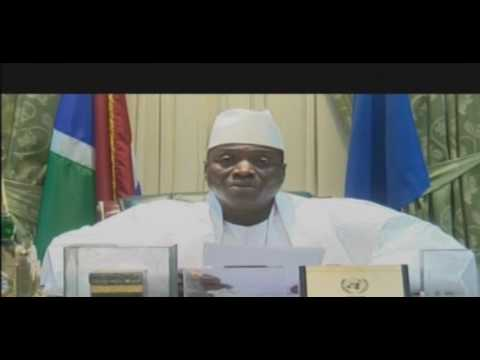 YAHYA JAMMEH ADDRESS THE NATION AFTER HIS LATE  TELEPHONE CALL