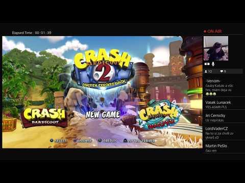 Crash Bandicoot 2 CZ Stream