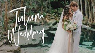 Magical Mayan Wedding Ceremony - Tulum Cenote