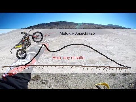 Saltos y motocross. MotoVlog en Español