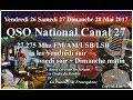 Vendredi 26 Mai 2017 QSO Franco-Québécois Cx27