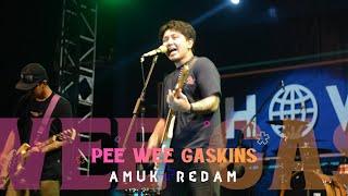 PEE WEE GASKINS - AMUK REDAM, LIVE AT JEC