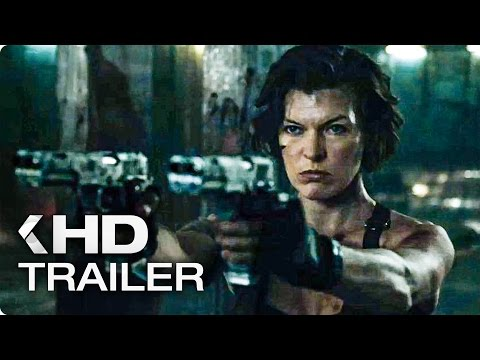 Resident Evil 6: The Final Chapter ALL Trailer & Clips (2017)