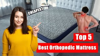 Top 5 Best Orthopedic Mattress For Back Pain In India 2021 | Orthopedic Mattress Review 2021