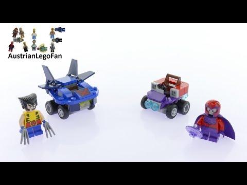 Vidéo LEGO Marvel 76073 : Mighty Micros : Wolverine contre Magneto