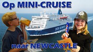 ⛴ MINICRUISE NEWCASTLE ⛴ met kinderen | overtocht met DFDS