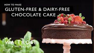 Gluten-free & dairy-free chocolate cake - Waitrose