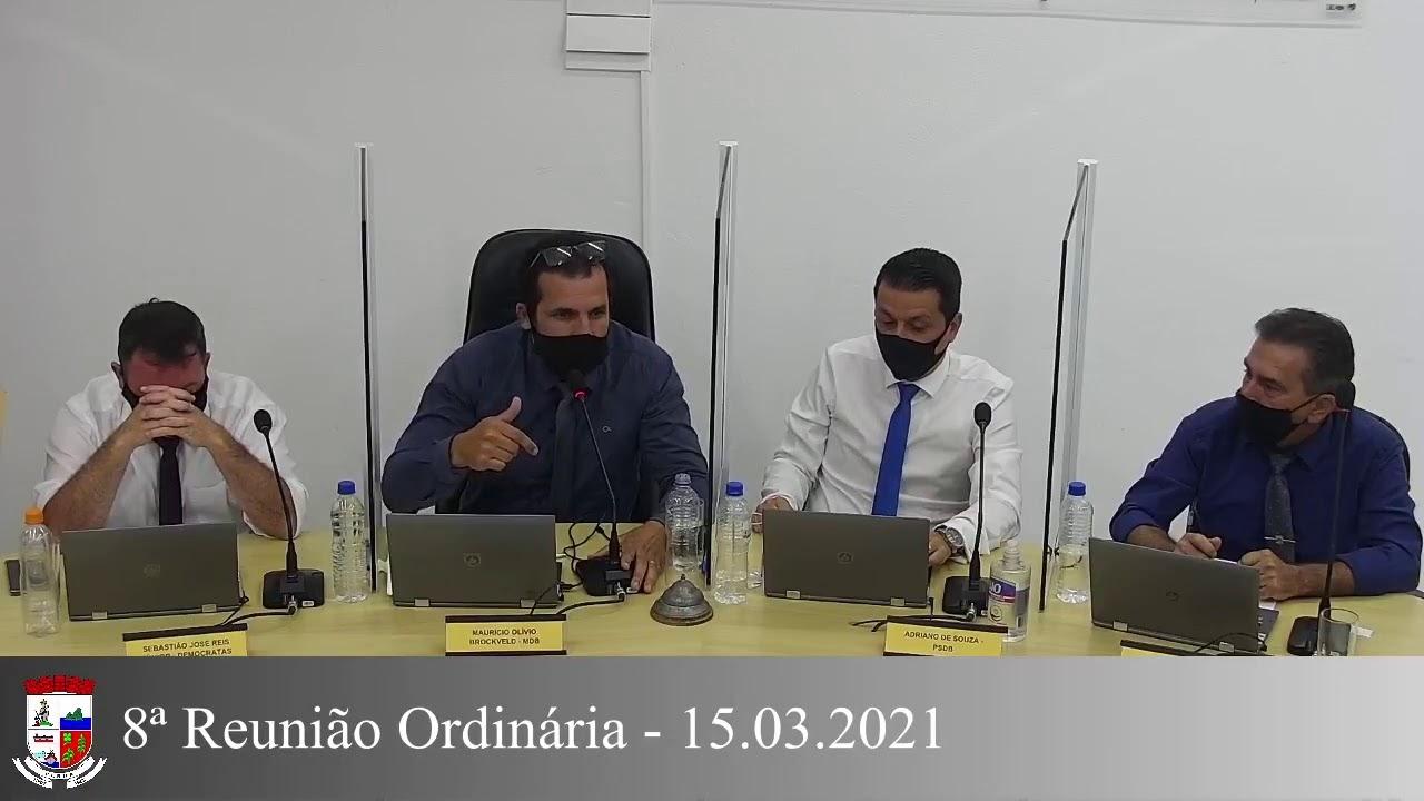 8ª Reunião Ordinária 15/03/2021