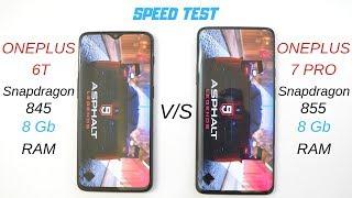 Oneplus 7 Pro vs Oneplus 6T ( 8GB Ram ) Speed test is it Worth Upgrading