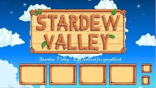 Stardew Valley - Egg festival - speedhack
