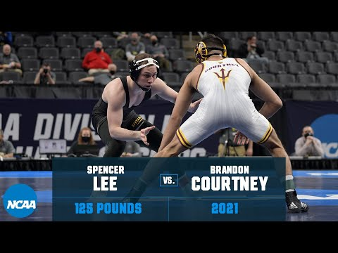 Spencer Lee vs. Brandon Courtney: 2021 NCAA Title (125 lbs.)