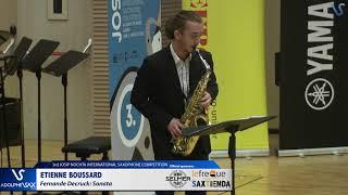 Etienne Boussard plays Sonate by Fernande Decruck