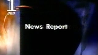 Princess Diana Crash - First BBC News Report (interrupting