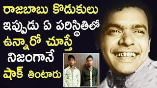 రాజబాబు కొడుకులు ఇప్పుడు ఏ పరిస్థితిలో ఉన్నారో చూస్తే షాక్ తింటారు | Telugu Comedian Rajabau Sons