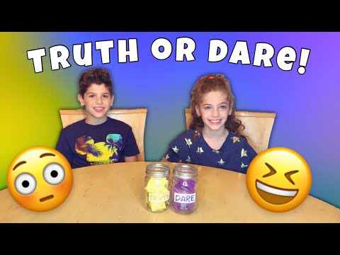 TRUTH or DARE! | Kid Friendly Challenge
