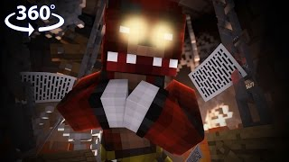 Five Nights At Freddy's - FOXY VISION! - 360° Minecraft Video