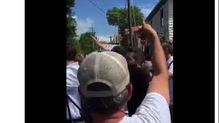 """Cville """"Alt Right"""" Marchers Chant """"Heil Trump"""""""