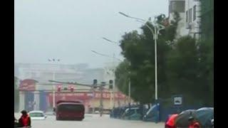 Китай - Тайфун «Эвиниар» 2018