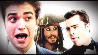 EDWARD CULLEN Vs CHUCK BASS Vs JACK SPARROW - BATTAGLIA RAP