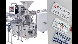 Refreshing Tissue Machine | Single Pack Wet Wipes Machine | Individual Wet Wipes Machine